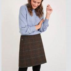 White Stuff Cinnamon Wool Skirt