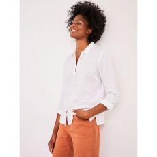 White Stuff Emma Shirt White Model