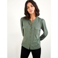 White Stuff Fenella Shirt Green front