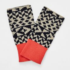 White Stuff Geometric Fairisle Gloves