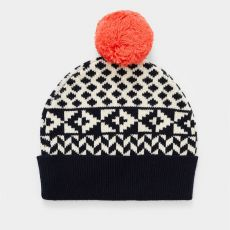 White Stuff Geometric Fairisle Hat