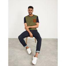 White Stuff Linwood Organic Colour Block T/Shirt front