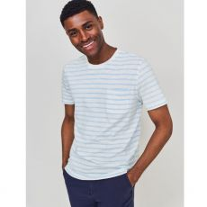 White Stuff Paint Strip Organic T/Shirt front