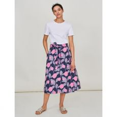 White Stuff Themba Wrap Skirt front