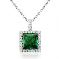 Waterford Jewellery Emerald Centre Pendant