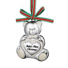 Newbridge Teddy Bear Babys First Christmas