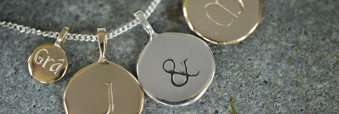 Initial Necklace Jewellery from Kilkenny Design