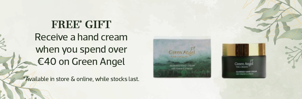 Green angel free gift with spend over €40