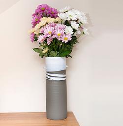 Greystone vase